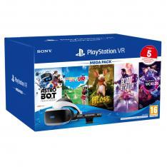GAFAS DE REALIDAD VIRTUAL SONY PS4 VR PLAYSTATION + CAMARA + MEGAPACK 5 JUEGOS