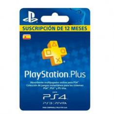 TARJETA SONY PLAYSTATION PLUS CARD 365 DIAS PS4   PS3   PSVITA