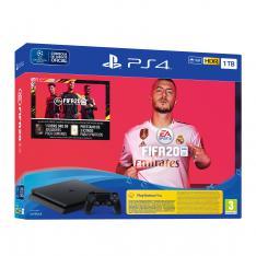 CONSOLA SONY PS4 PRO 1TB + FIFA 20 + PS PLUS 14 DIAS