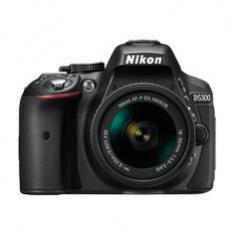 CAMARA REFLEX NIKON D5300 AFP 18-55 VR 24.2MP FULL HD WI-FI GPS ESTUCHE + LIBRO DESCARGA
