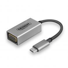 CONVERSOR EMINENT USB TIPO C - VGA / MACHO-HEMBRA