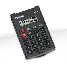 CALCULADORA CANON BOLSILLO AS-8 8 DIGITOS/ TAPA PLEGABLE