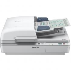 ESCANER PLANO EPSON WORKFORCE DS-6500 A4/ 25PPM/ DUPLEX/ USB 2.0/ RED OPCIONAL/ ADF 100HOJAS