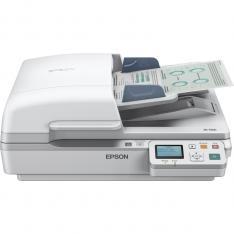 ESCANER PLANO EPSON WORKFORCE DS-6500N A4/ 25PPM/ DUPLEX/ USB 2.0/ RED/ ADF 100HOJAS