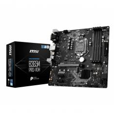 PLACA BASE MSI INTEL B365M PRO-VDH SOCKET 1151 DDR4 X4 MAX 64GB 2666MHZ HDMI D-SUB DVI-D MATX