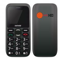 """TELEFONO MOVIL DENVER 1.77"""" / SMS / DUAL BAND / DUAL SIM / CAMARA / BOTON SOS / PARA MAYORES"""