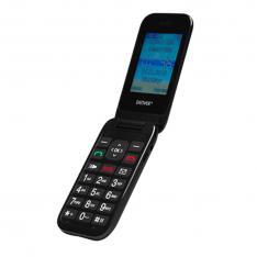 """TELEFONO MOVIL DENVER 24"""" / SMS / DUAL BAND / DUAL SIM / CAMARA / BOTON SOS / PARA MAYORES"""