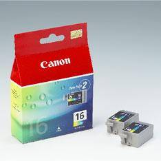 CARTUCHO TINTA CANON TRICOLOR BCI16 PARA IP90/ MINI 220