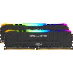 MEMORIA DDR4 16GB 2X8GB CRUCIAL BALLISTIX GAMING / UDIMM / 3600 MHZ / PC4 28800 / CL16 / RGB