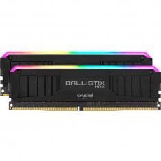 MEMORIA DDR4 16GB 2X8GB CRUCIAL BALLISTIX MAX GAMING / UDIMM / 4000 MHZ / PC4 3200 / CL18 / RGB