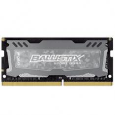 MEMORIA DDR4 8GB CRUCIAL BALLISTIX SPORT LT GRIS/ SODIMM/  2400 MHZ / PC4 19200 / CL16