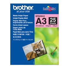PAPEL BROTHER INYECCION MATE BP60MA3 25 HOJAS MFC5890CN MFC5895CW MFCJ5910DW DCP6690CW MFC6490CW MFCJ6510DW MFCJ6520DW MFCJ6710DW MFCJ6720DW MFC6890CDW MFCJ6910DW MFCJ6920DW MFCJ4410DW MFCJ4510DW