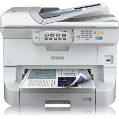 MULTIFUNCION EPSON INYECCION COLOR WF-8590DWF WORKFORCE PRO FAX/ A3/ 34PPM/ USB/ RED/ WIFI/ WIFI DIRECT/ DUPLEX TODAS LAS FUNCIONES/ ADF