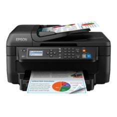 MULTIFUNCION EPSON INYECCION WF2750DWF WORKFORCE FAX  A4  33PPM   USB  WIFI  WIFI DIRECT  DUPLEX IMPRESION  ADF  OCR  LCD