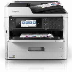 MULTIFUNCION EPSON INYECCION WF-C5790DWF WORKFORCE PRO FAX  A4  34PPM  USB  RED  WIFI  WIFI DIRECT  DUPLEX TODAS LAS FUNCIONES  ADF  NFC