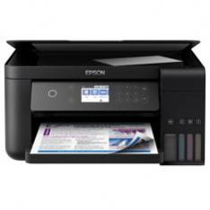 MULTIFUNCION EPSON INYECCION COLOR ECOTANK ET-3700 A4/ 33PPM/ RED/ WIFI/ WIFI DIRECT/ LCD