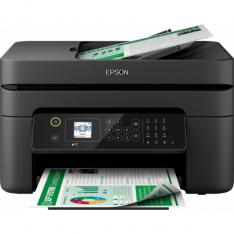 MULTIFUNCION EPSON INYECCION COLOR WF-2830DWF WORKFORCE FAX  A4  33PPM  USB  WIFI  WIFI DIRECT  DUPLEX IMPRESION  ADF