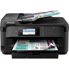MULTIFUNCION EPSON INYECCION COLOR WF-7710DWF FAX/ A3/ 18PPM/ USB/ RED/ WIFI/ WIFI DIRECT/ NFC/ DUPLEX TODAS LAS FUNCIONES
