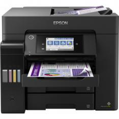 MULTIFUNCION EPSON INYECCION COLOR ECOTANK ET-5850 FAX/ A4/ 25PPM/ USB/ RED/ WIFI/ WIFI DIRECT/ DUPLEX TODAS LAS FUNCIONES/ LCD/ BANDEJA 250 HOJAS/ ADF 50 HOJAS