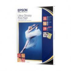 PAPEL EPSON C13S041944 ULTRA GLOSSY 13X18 300GR 50 HOJAS
