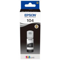CARTUCHO ECOTANK EPSON 104 NEGRO INK 65ML BOTELLA