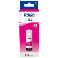CARTUCHO ECOTANK EPSON 104 MAGENTA INK 65ML BOTELLA