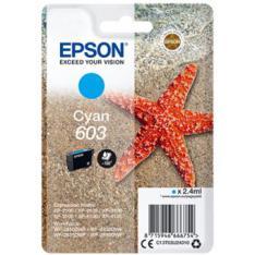 CARTUCHO TINTA EPSON C13T03U24010 SINGLEPACK CIAN 603 ESTRELLA DE MAR