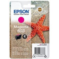 CARTUCHO TINTA EPSON C13T03U34010 SINGLEPACK MAGENTA 603 ESTRELLA DE MAR