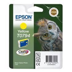 CARTUCHO TINTA EPSON T079440 AMARILLO 11.1ML STYLUS PHOTO 1400/ BUHO