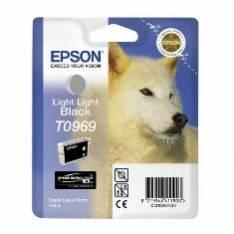 CARTUCHO TINTA EPSON C13T09694010 R2880 T0969 APROX. 6065 PAG GRIS CLARO