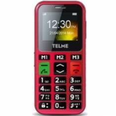 TELEFONO MOVIL EMPORIA C150RE ROJO   RADIO FM   TECLAS GRANDES   BOTON EMERGENCIA