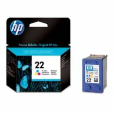 CARTUCHO TINTA HP 22 C9352AE TRICOLOR 5ML 3920/ 3940/ PS1410