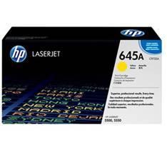 TONER HP 645A C9732A AMARILLO IMP.LASER HP 5500/5550