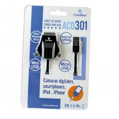 CABLE DE DATOS COOLBOX ADC 301 USB