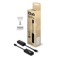 ADAPTADOR CLUB 3D USB 3.1 TIPO C A DISPLAYPORT 1.2 UHD ACTIVE