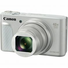 CAMARA DIGITAL CANON POWERSHOT SX730 HS 20.3MP  ZOOM 80X  ZO 40X  3''  FULL HD  WIFI  NFC  SILVER