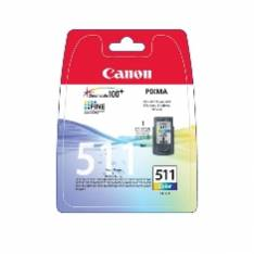 CARTUCHO TINTA CANON CL 511 TRICOLOR 9ML MP240/ 250/ 260/ 270 MP 480/ 490 MX 320/ 330 BLISTER