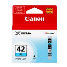 CARTUCHO TINTA CANON CLI-42PC CIAN FOTO PIXMA 13ML