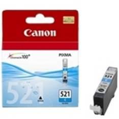 CARTUCHO TINTA CANON CLI 521C CIAN PIXMA 9ML 3600  4600  4700  MP540  550  560  620  630  640  980 MX860  870