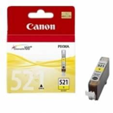 CARTUCHO TINTA CANON CLI 521 AMARILLO 9ML PIXMA 3600/ 4600/ 4700 MP 540/ 550/ 560/ 620/ 630/ 640/ 980 MX860/ 870