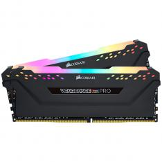 MEMORIA DDR4 16GB KIT RGB PRO 2X8 CORSAIR/ PC4-24000/ 3000MHZ/ C15/ NEGRO