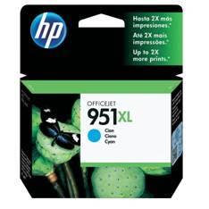 CARTUCHO TINTA HP 951XL CN046AE CIAN OFFICEJET PRO 8100  8600 8600 + 8600 PREMIUN