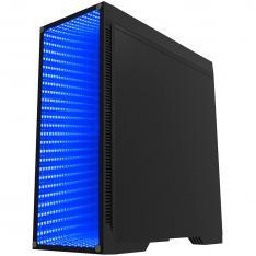 CAJA ORDENADOR GAMING COOLBOX DEEPENDLESS RGB ATX USB SIN FUENTE