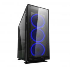 CAJA ORDENADOR GAMING COOLBOX DEEPFLASH RGB ATX USB SIN FUENTE