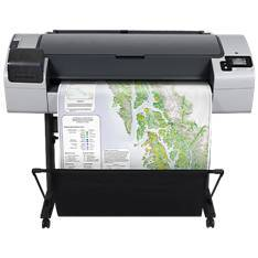 "PLOTTER HP DESINGJET T795 44""/ 2400PPP/ 16GB/ USB/ RED"