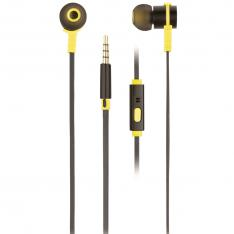 AURICULARES METALICOS NGS CROSSRALLYBLACK / TECNOLOGIA VOZ ASSISTANT / 20HZ-20KHZ / 95DB  / JACK 3.5MM / CABLE 1.2M