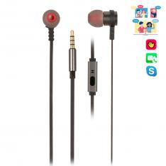 AURICULARES METALICOS NGS CROSSRALLY GRAPHITE   TECNOLOGIA VOZ ASSISTANT   20HZ-20KHZ   95DB    JACK 3.5MM   CABLE 1.2M
