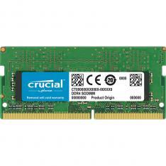MEMORIA DDR4 8GB CRUCIAL / SODIMM / 2400MHZ / PC4 19200 / CL17 / SRX8