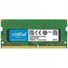 MEMORIA DDR4 8GB CRUCIAL / SODIMM / 2666 MHZ / PC4 21300