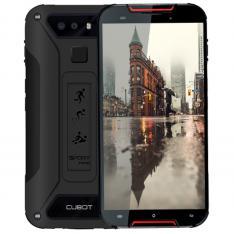 TELEFONO MOVIL SMARTPHONE CUBOT QUEST LITE ROJO NEGRO / 32GB ROM / 3GB RAM / 13+2MPX - 8MPX / IP68 / OUAD CORE / 4G / LECTOR HUELLA